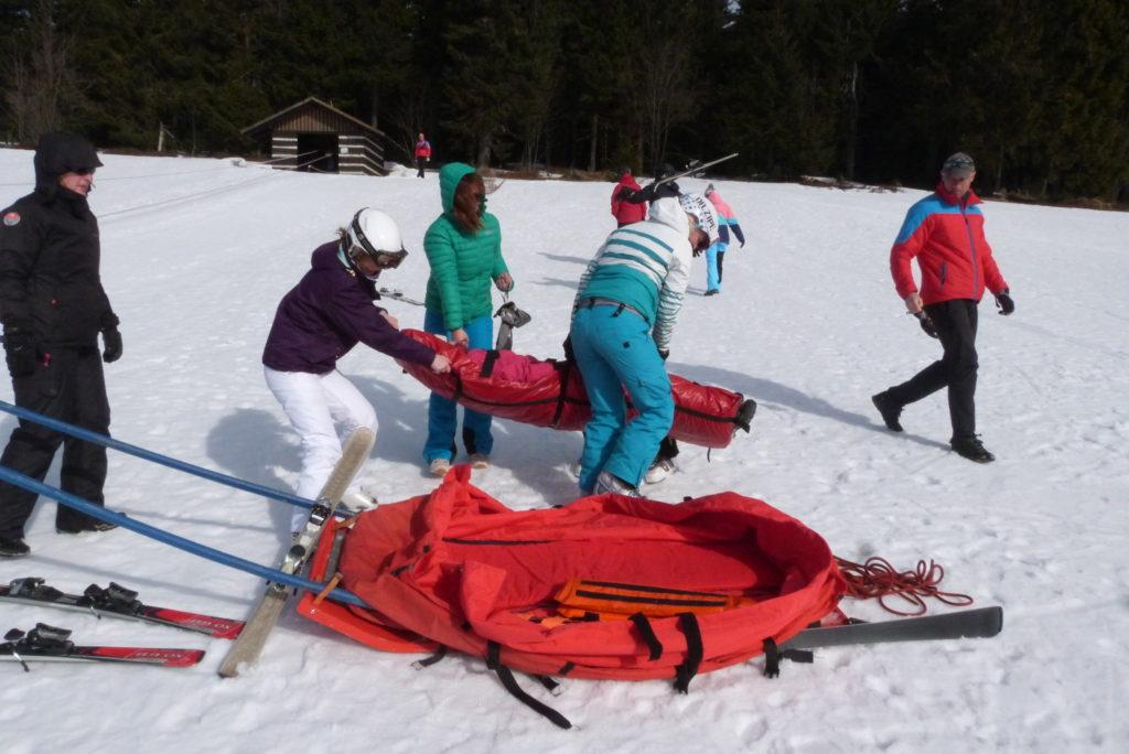 Zimní kurz s horskou službou
